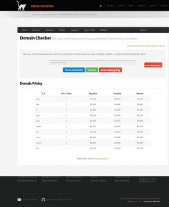WHMCS Integration - Domain Checker