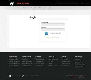 WHMCS Integration - Login