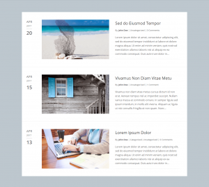 Divi Blog Layouts Fullwidth